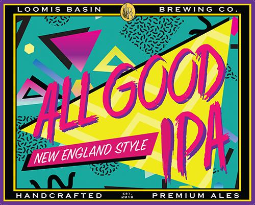 Allgood IPA | Loomis Basin Brewing